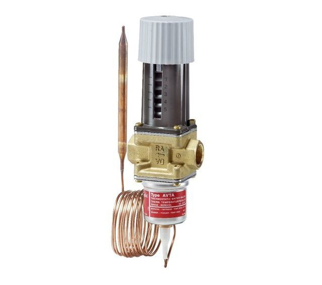 AVTA 15 THERM. WATERVALVE